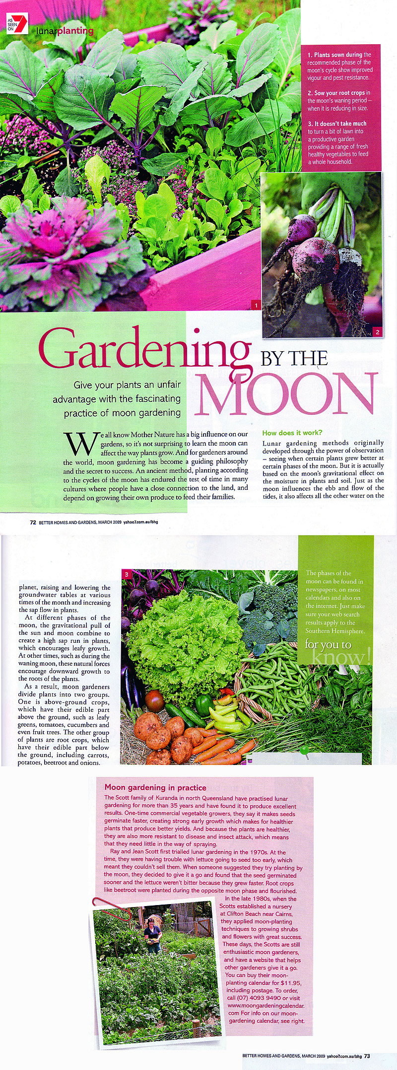 Resources moon gardening calendar Better homes and gardens march